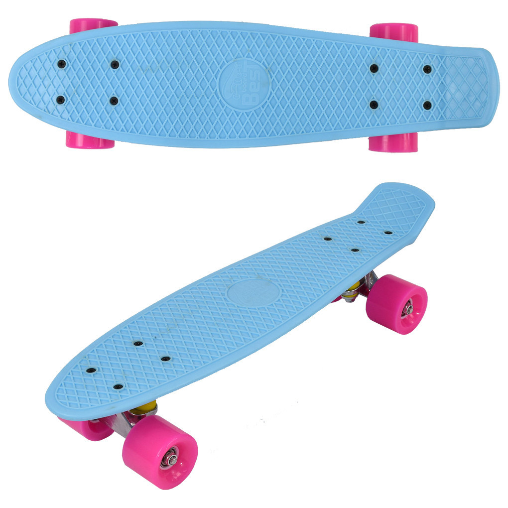 """Скейт Penny board 780 22"""" Голубой 65564"""