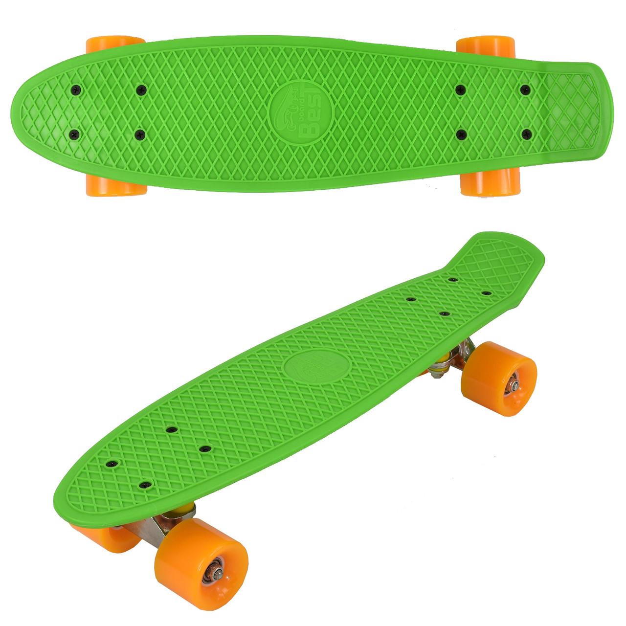 """Скейт Penny board 780 22"""" Салатовый 65563"""