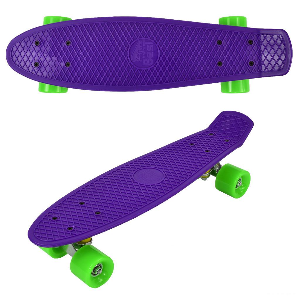 "Скейт Penny board 780 22"" Фиолетовый 65565"