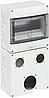 Распределительный щит Spelsberg STV 912-L для установки штепсельных розеток на 9 модулей, sp72991201