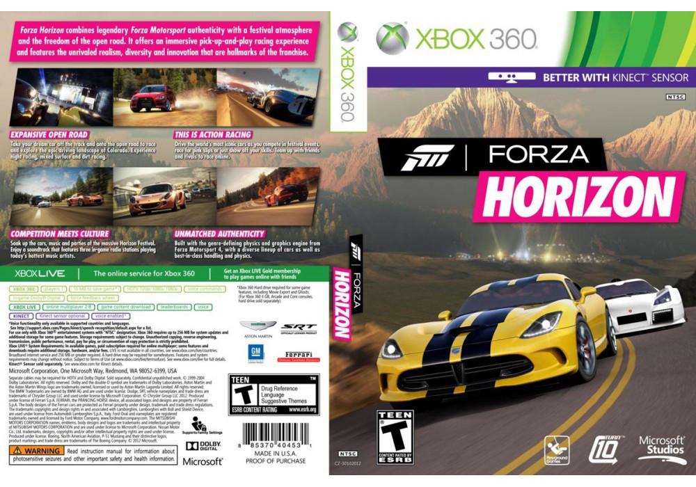 Forza Horizon (лицензия, ваучер)