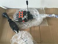Гидрораспределитель 2Р40 с тросовым управлением и джойстиком комплект