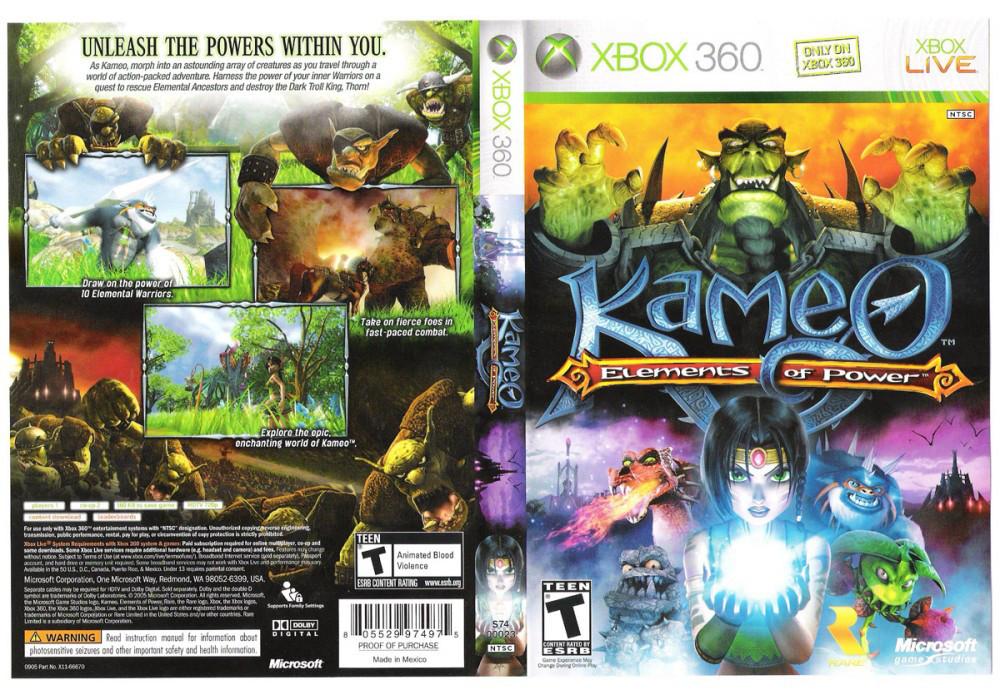 Kameo: Elements of Power (лицензия)