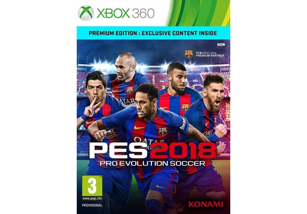 Pro Evolution Soccer 2018 (русский текст)