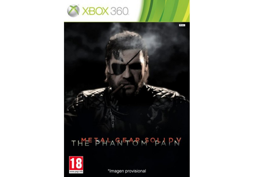 Metal Gear Solid V: The Phantom Pain (2 диска, русский текст)