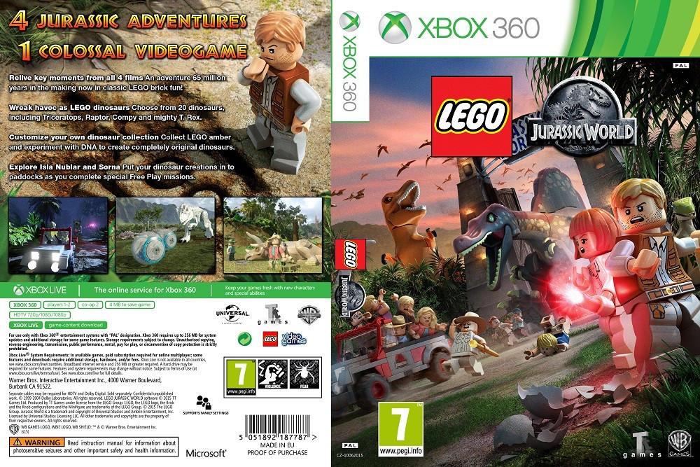 LEGO Jurassic World (русский текст)