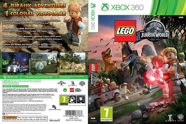 LEGO Jurassic World (русский текст), фото 2