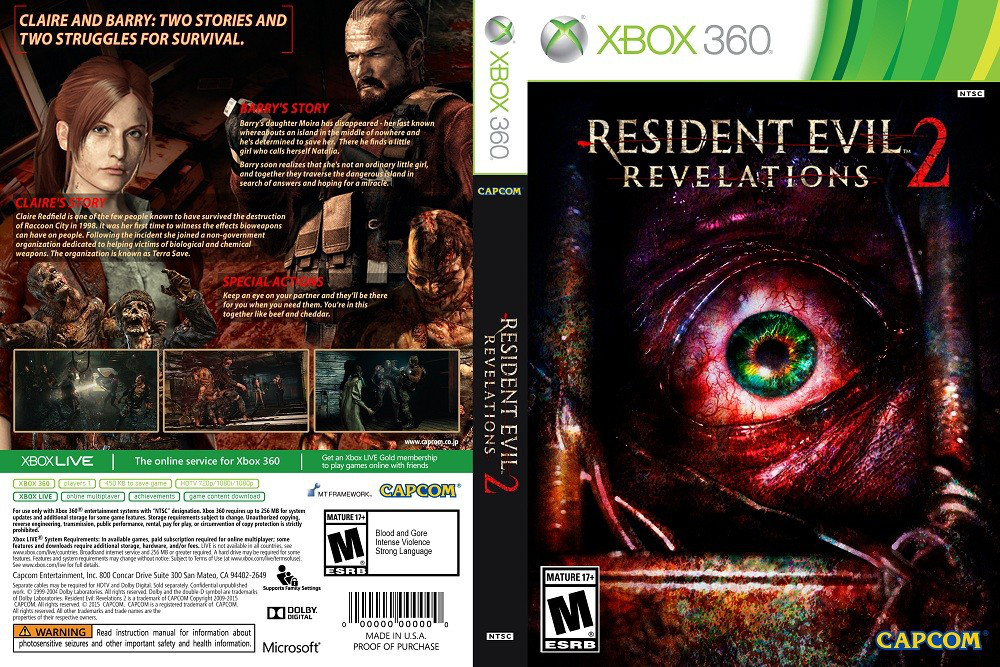 Resident Evil: Revelations 2 (русский текст)