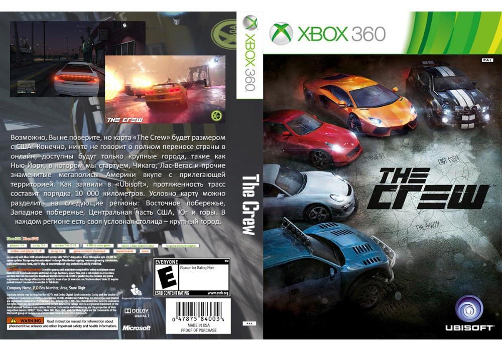 The Crew (2 диска, русский звук и текст) (обязательна подписка Xbox Live!)