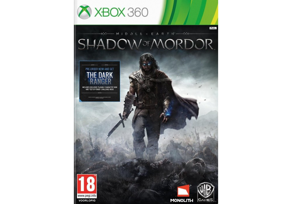 Middle Earth: Shadow of Mordor (русский текст) (2 диска)