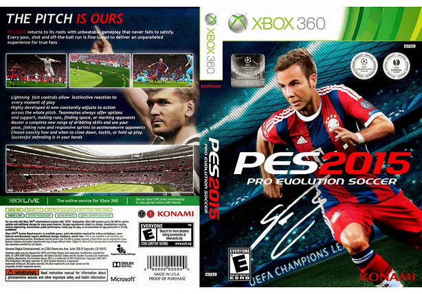 Pro Evolution Soccer 2015 (русский текст), фото 2