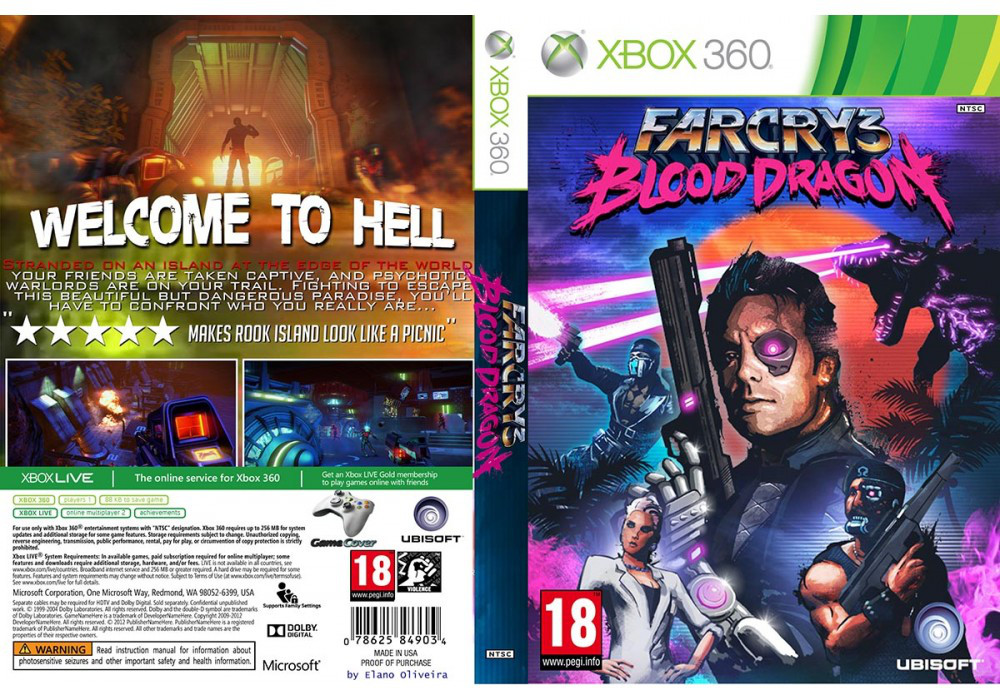 Far Cry 3: Blood Dragon (русский звук и текст)