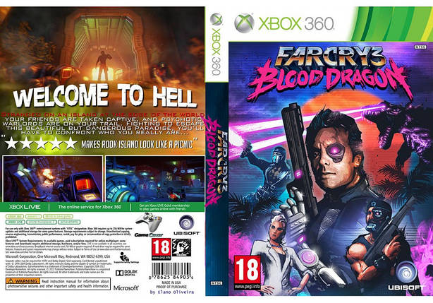 Far Cry 3: Blood Dragon (русский звук и текст), фото 2