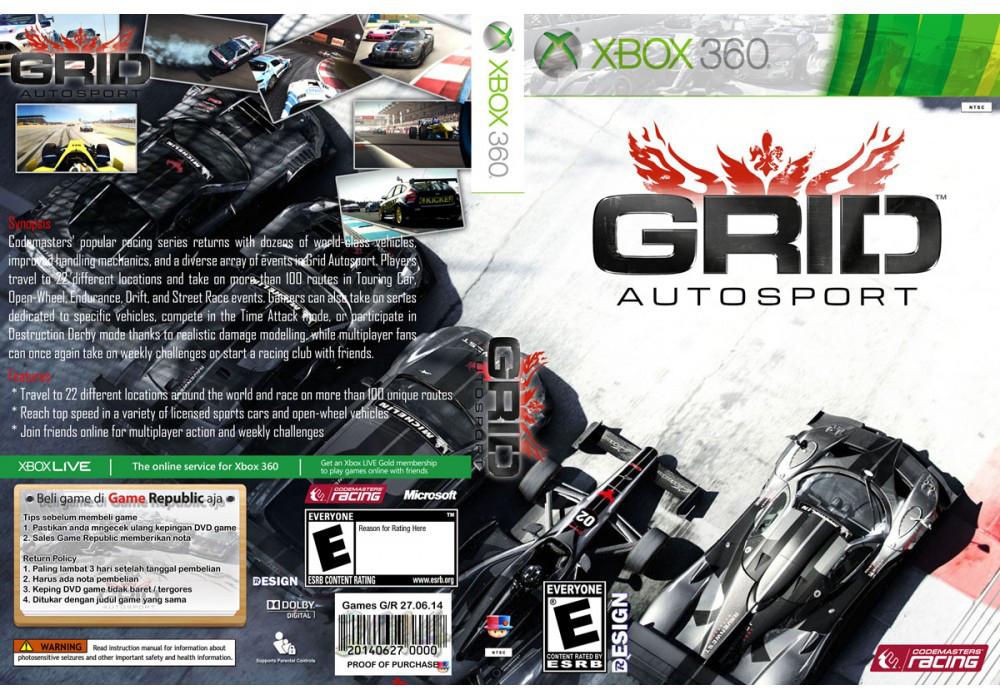 GRID: Autosport (русский звук и текст)