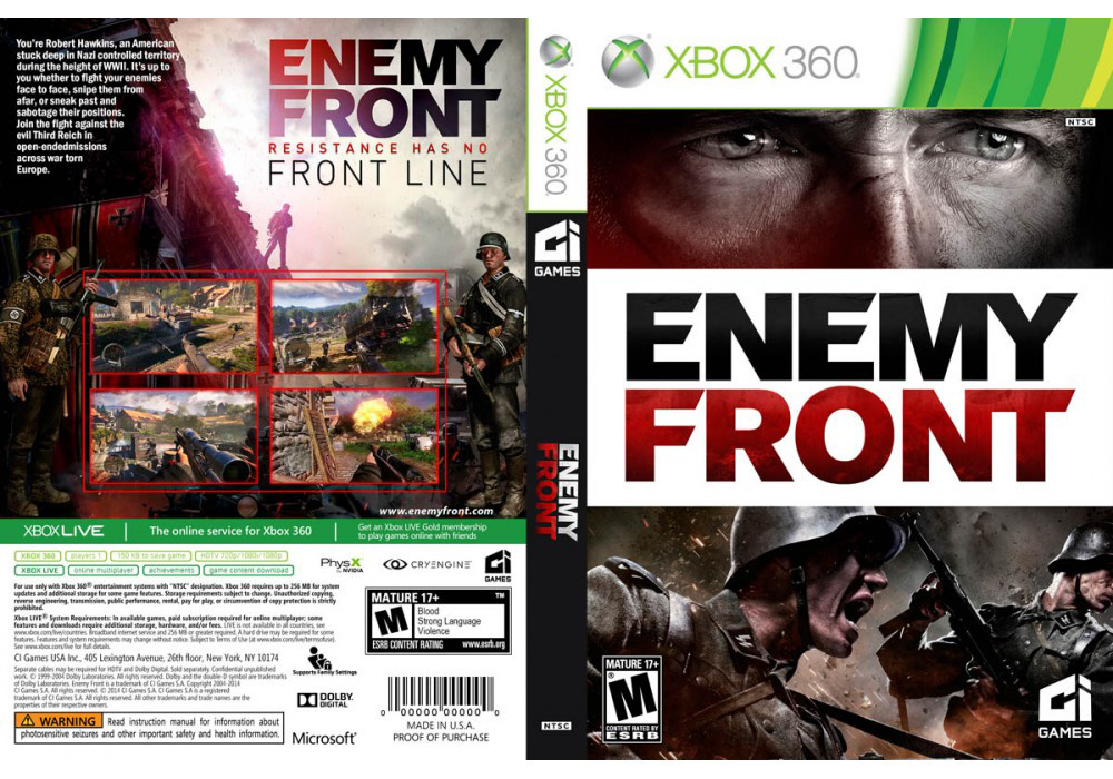 Enemy Front (русский текст)
