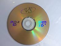 DVD+R диски для видео VS золотистый 16x Bulk/50