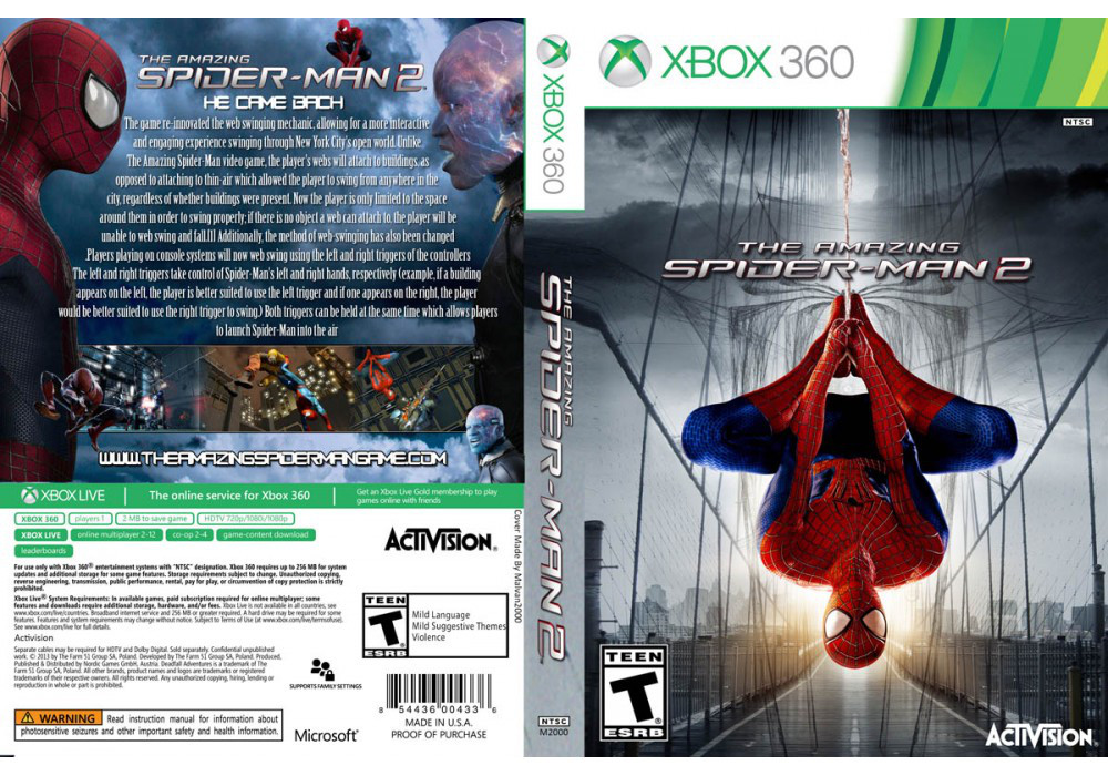 The Amazing Spider-Man 2 (русский текст и звук)