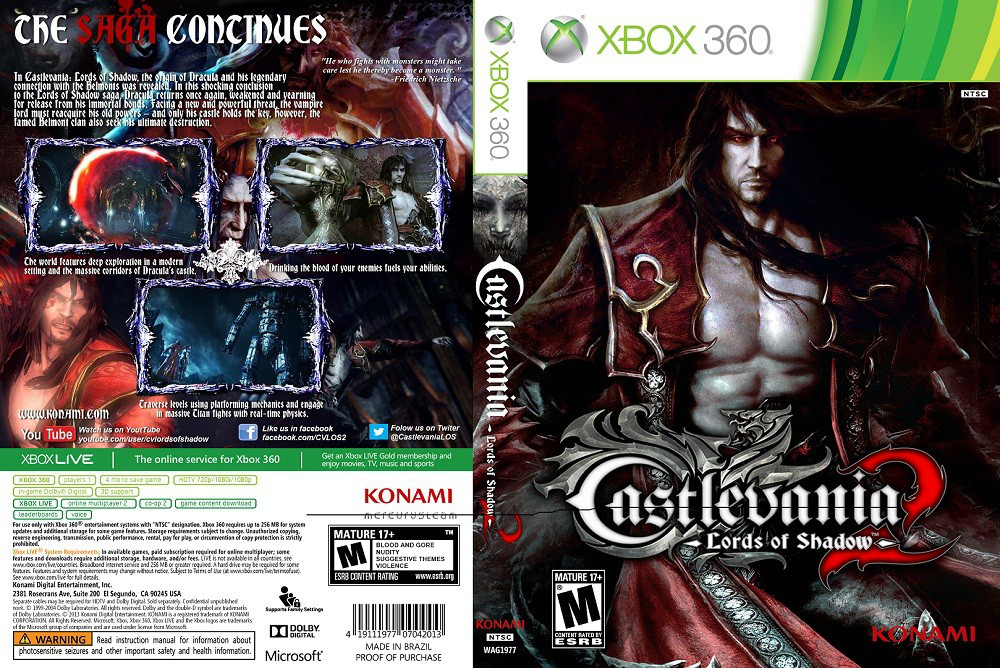 Castlevania: Lords of Shadow 2 (русский текст)
