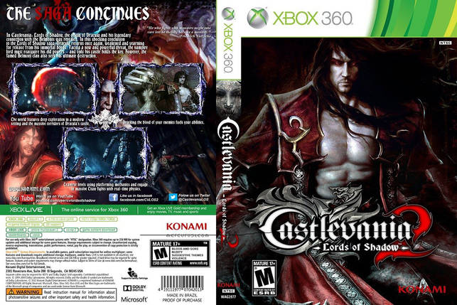 Castlevania: Lords of Shadow 2 (русский текст), фото 2