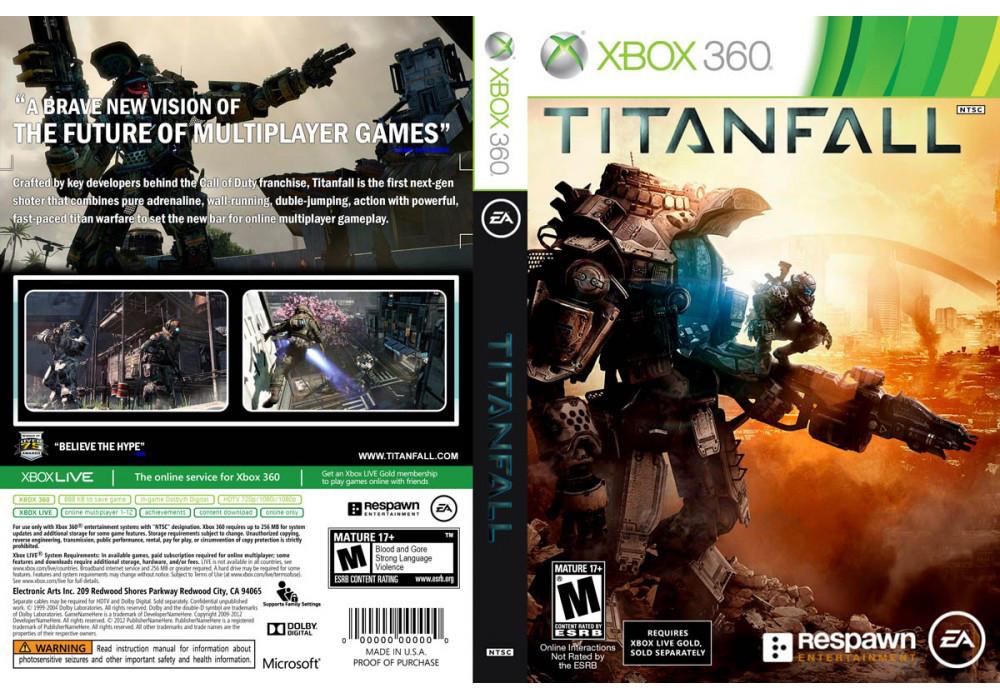 Titanfall (русский звук и текст, только для Xbox Live + скидка на Gold подписку)