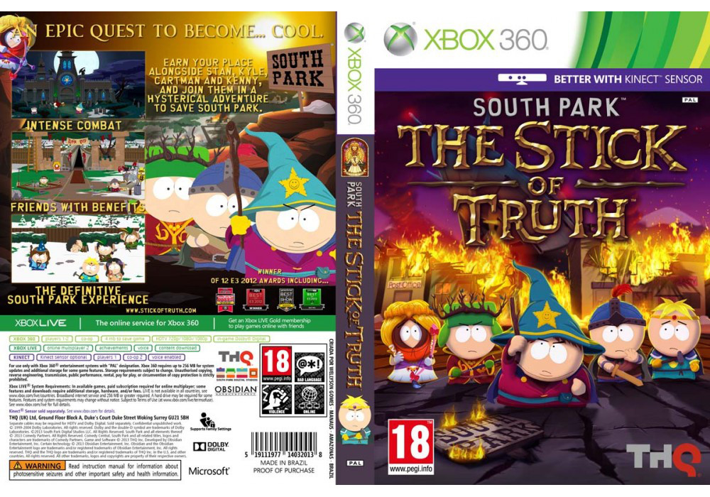 South Park: The Stick of Truth (русский текст)