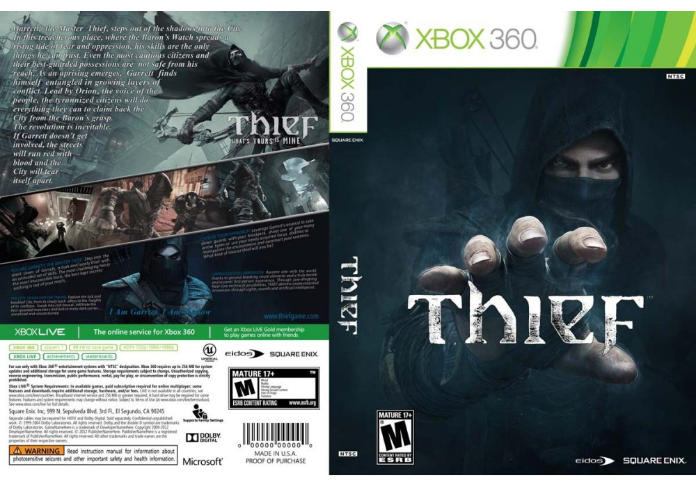 Thief (русский звук и текст)