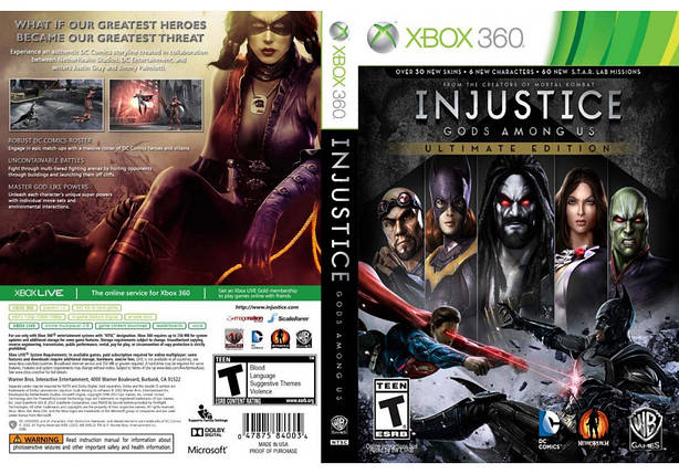 Injustice: Gods Among Us - Ultimate Edition (русский текст), фото 2
