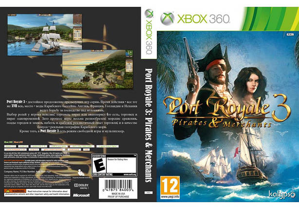 Port Royale 3 : Pirates And Merchants (русский текст), фото 2