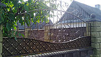 Забор  кованый Володимирець