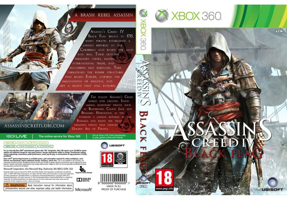 Assassin's Creed IV: Black Flag (русский звук и текст)