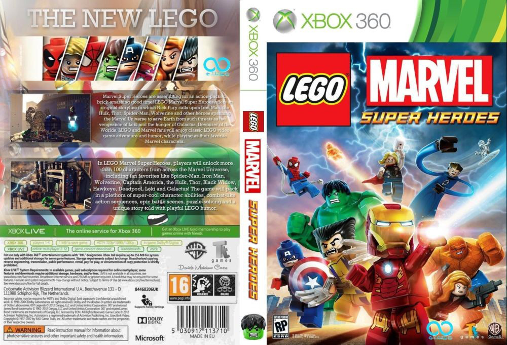 LEGO Marvel Super Heroes (російський текст)