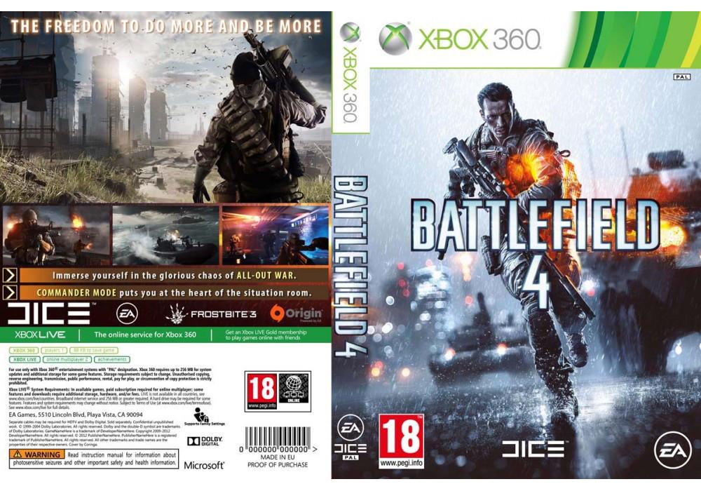 Battlefield 4 (русский текст и звук, 2 диска)
