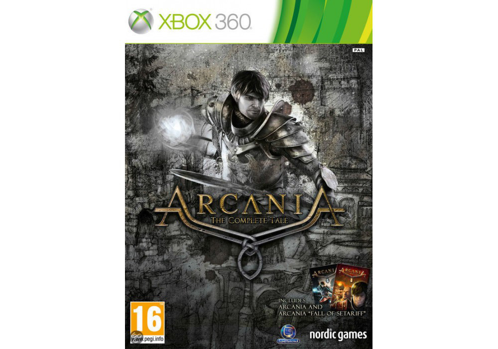 Arcania The Complete Tale (русский текст и озвучка)
