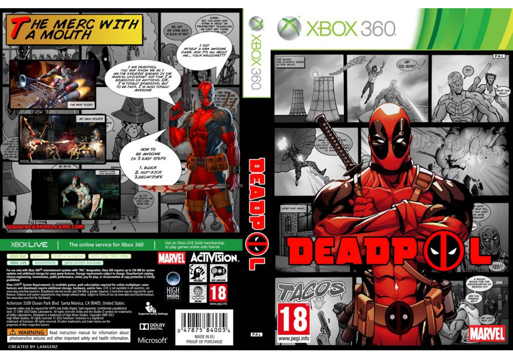 Deadpool (русский текст)