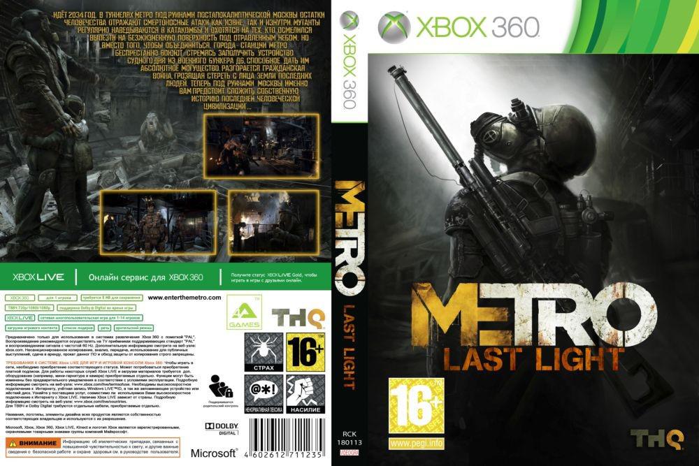 Metro Last Light (русский звук и текст)