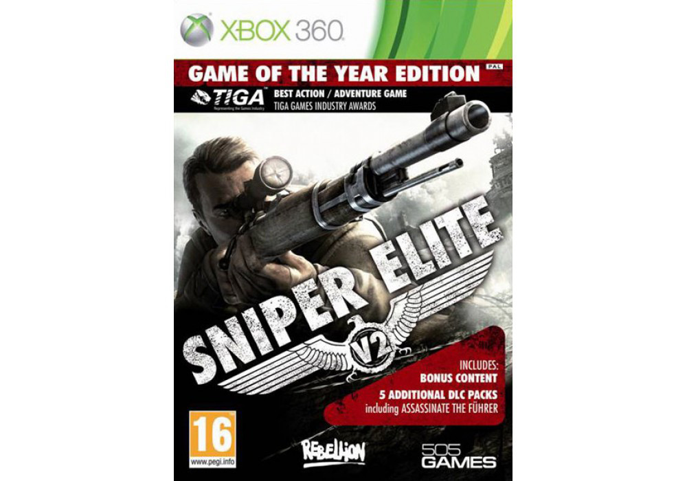 Sniper Elite V2 Game of the Year Edition (русская версия)