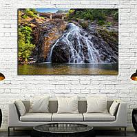 Картина -  Прекрасный вид на водопад Дудшагар в Гоа, Индия