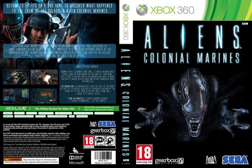 Aliens: Colonial Marines (русский текст и озвучка)