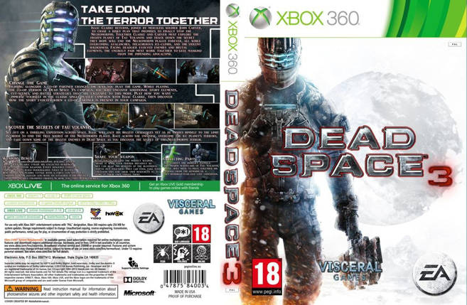 Dead Space 3 (2 диска, русский текст), фото 2