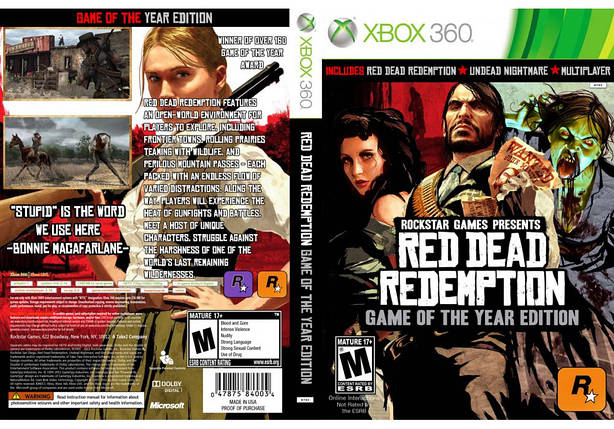 Red Dead Redemption Game of the Year edition (русский текст), фото 2