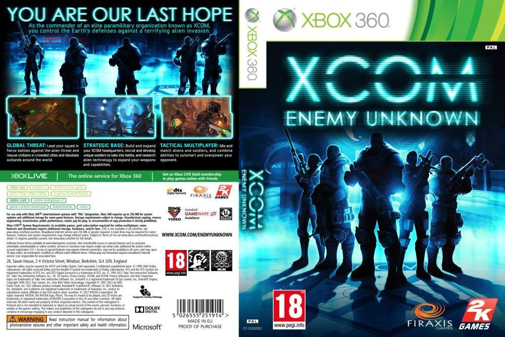 X-COM: Enemy Unknown (русский звук и текст)