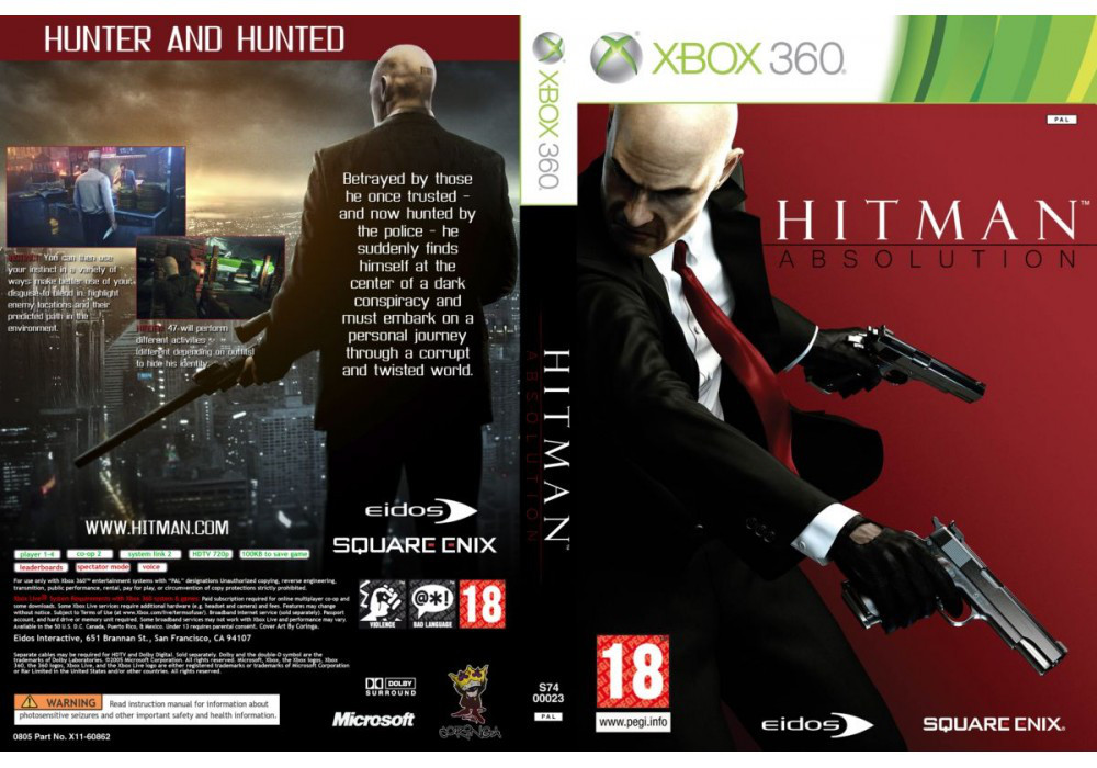 Hitman: Absolution (русский звук и текст)