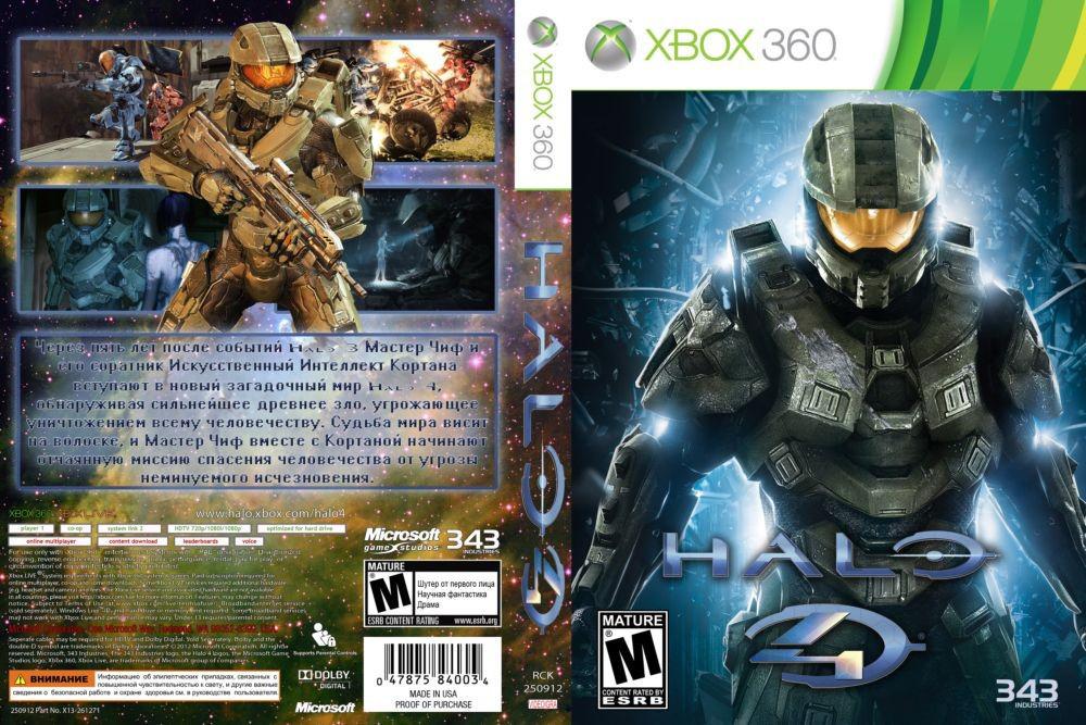Halo 4 (русский текст и звук, 2 диска) (+мультиплеер)