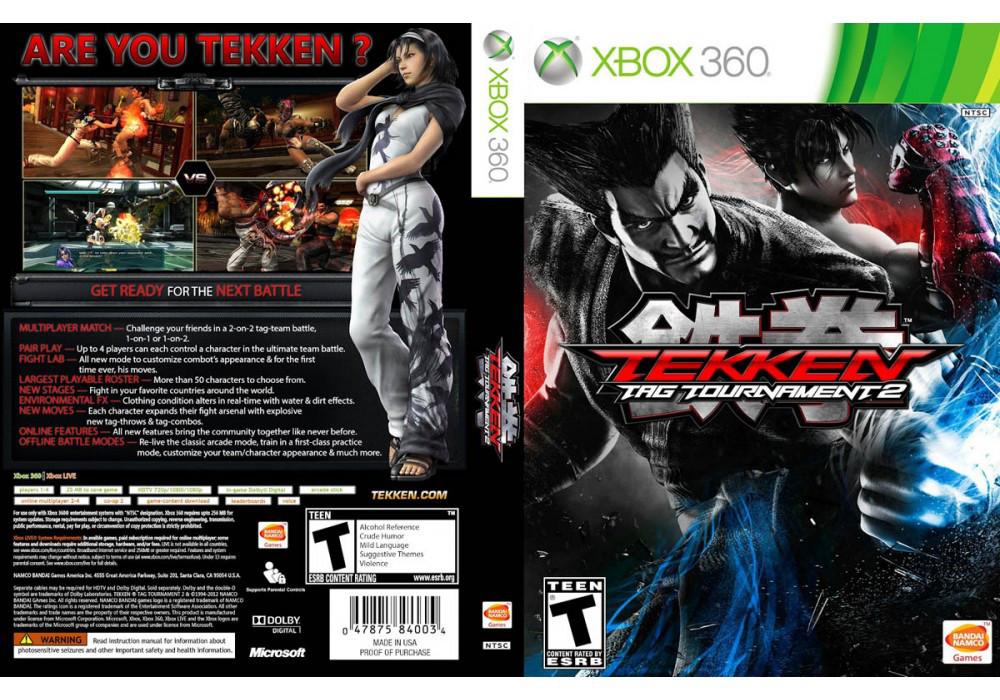 Tekken Tag Tournament 2 (русский текст)