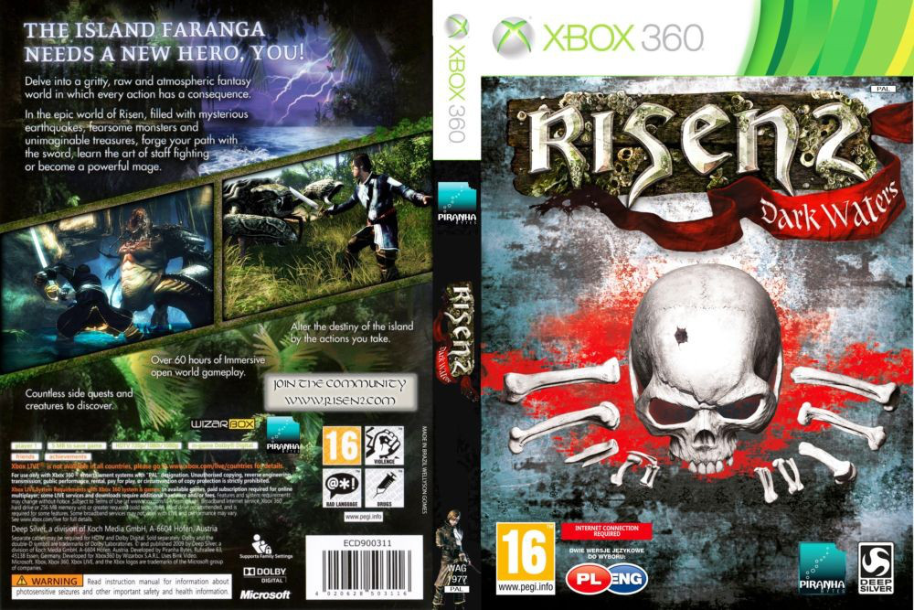 Risen 2: Dark Waters (русская версия)