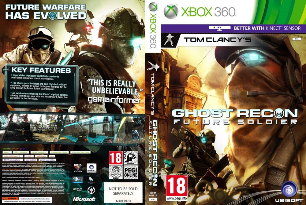 Tom Clancy's Ghost Recon: Future Soldier (русский звук и текст)