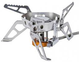 Газова пальник Tramp TRG-046 зі шлангом, п'єзопідпалом і вітрозахистом