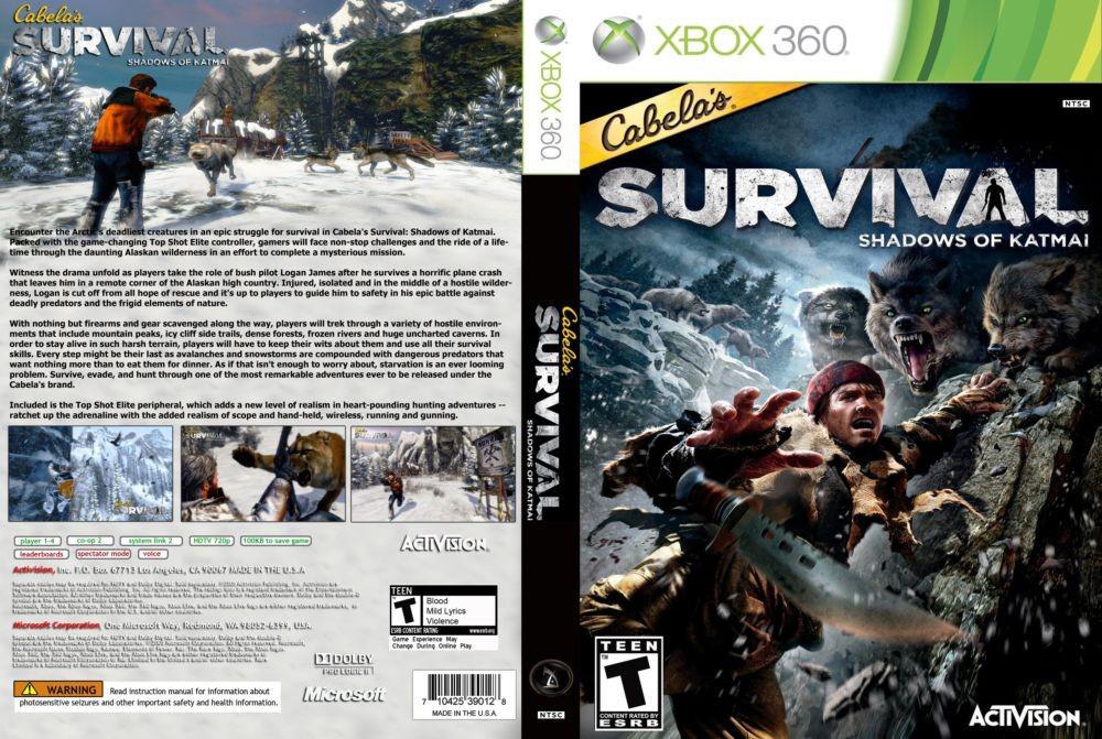 Cabela's Survival : Shadows of Katmai (русская версия)
