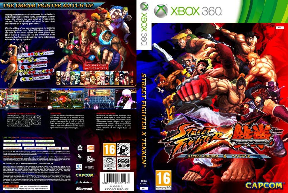 Street Fighter X Tekken (русский текст)