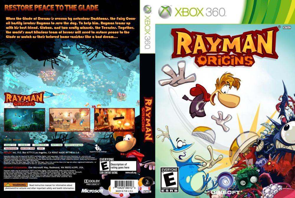 Rayman Origins (русский текст)